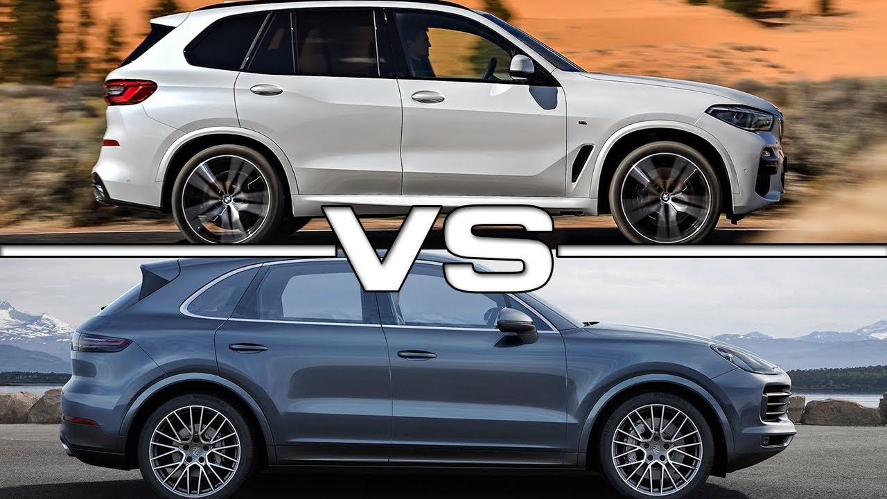 2019 bmw x5 vs 2019 porsche cayenne technical specifications youtube. Black Bedroom Furniture Sets. Home Design Ideas