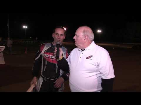 Ohio Valley Speedway Freddy Carpenter post race interview 5-13-17