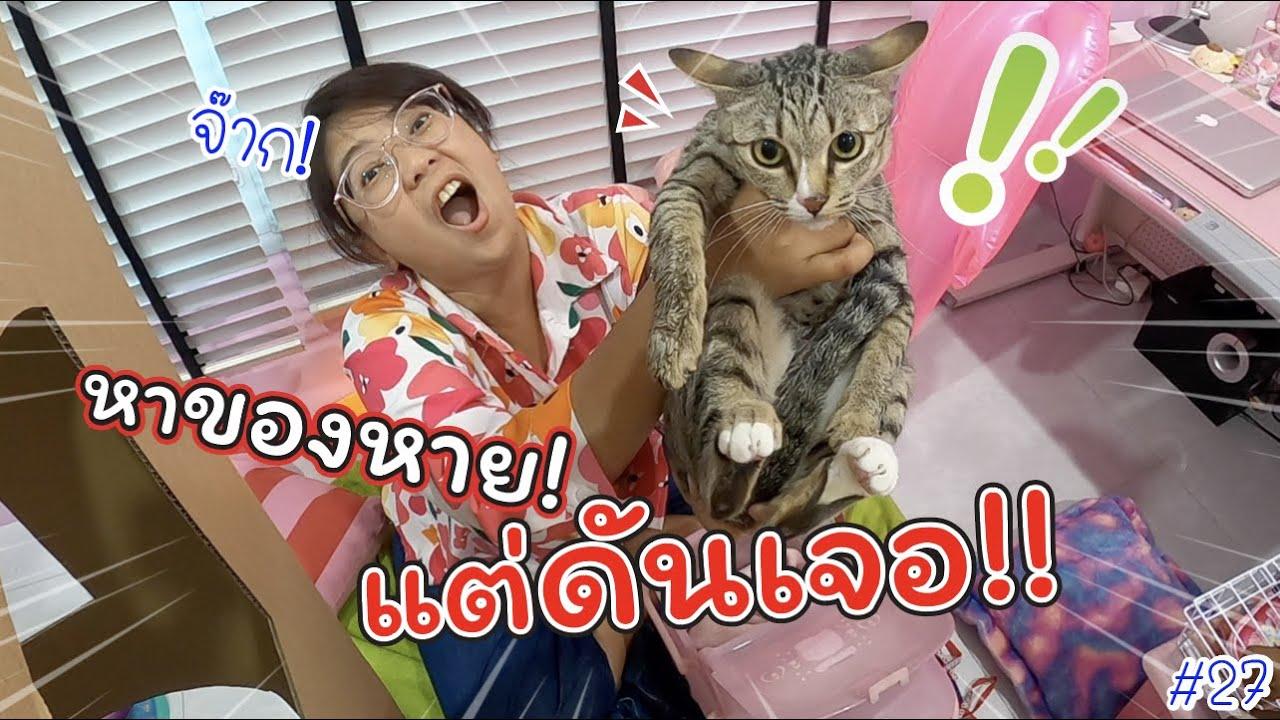 หาของหาย!! แต่ดันเจอ? แมว!! มาได้ไง!!! #27 | แม่ปูเป้ เฌอแตม Tam Story