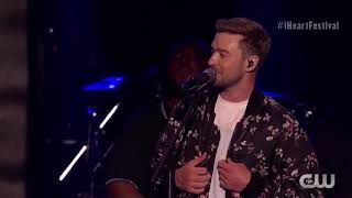 Justin Timberlake and Shawn Mendes duet at iHeart Radio Music Festival