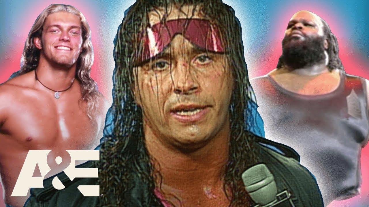 "WWE Biography: Bret ""Hitman"" Hart - Ultimate Entertainer & Mentor   A&E"