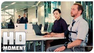 Бенджи проходит детектор лжи - Миссия невыполнима: Племя изгоев (2015) - Момент из фильма