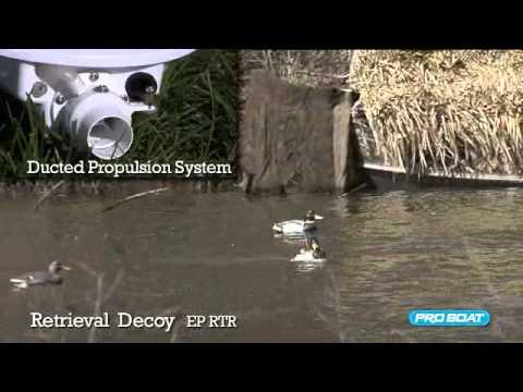 ProBoat Pro Boat Retrieval Decoy 2.4ghz Rc Boat