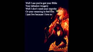 First Aid Kit - Hard Believer (with lyrics)