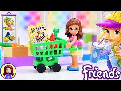 Lego Friends Heartlake Supermarket Build And Silly Play