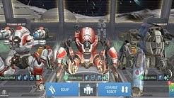 Spider Bot Trio Hangar Battling On Small Maps- 3 Millon Damage [Spider Bot War] | War Robots