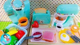 รีวิวของเล่นเครื่องครัว ของเล่นทำอาหาร รายการครัวน้องโม ตอน ส้มตำ ต้มแซบ