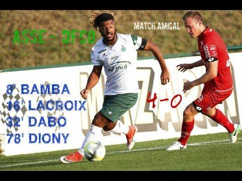 3ème match amical de l'été : ASSE - DIJON FCO 4-0