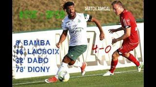3ème match amical de l'été 2017 : ASSE - DIJON FCO 4-0