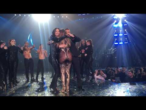 Jlo dancer gets engaged  on stage at All I Have vegas show!