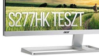 "Az UHD ""mindenes"" monitor   Acer S277HK"