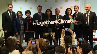 C40 mayors #together4climate in Paris