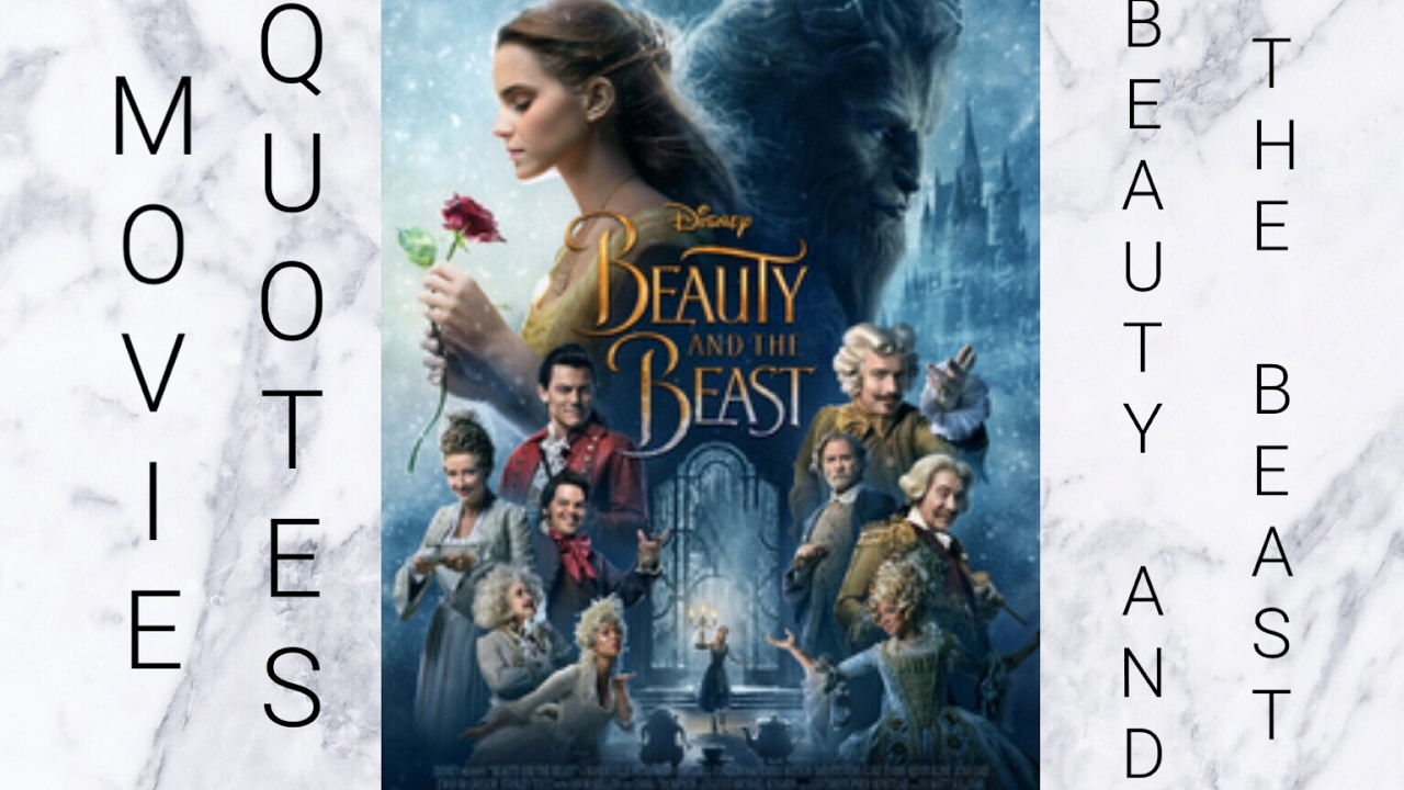 Beauty And The Beast Movie Quotes Youtube