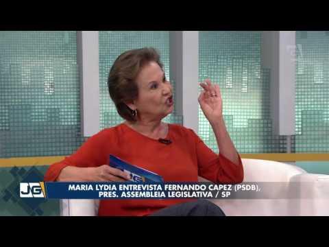 Maria Lydia entrevista Fernando Capez (PSDB), pres. Assembleia Legislativa/SP