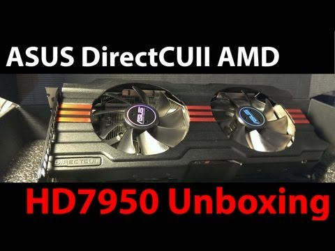 ASUS DirectCUII AMD HD7950 Unboxing and Overview