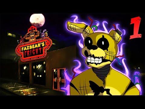 ОТКРЫТИЕ ХОРРОР АТТРАКЦИОНА   Five Nights At Freddy's 3 КОМИКС #1