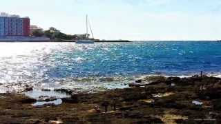 Traumstrand Es Trenc Part 3, Mallorca Tourist Video mit Street Map  Der Traum Strand von Es Trenc