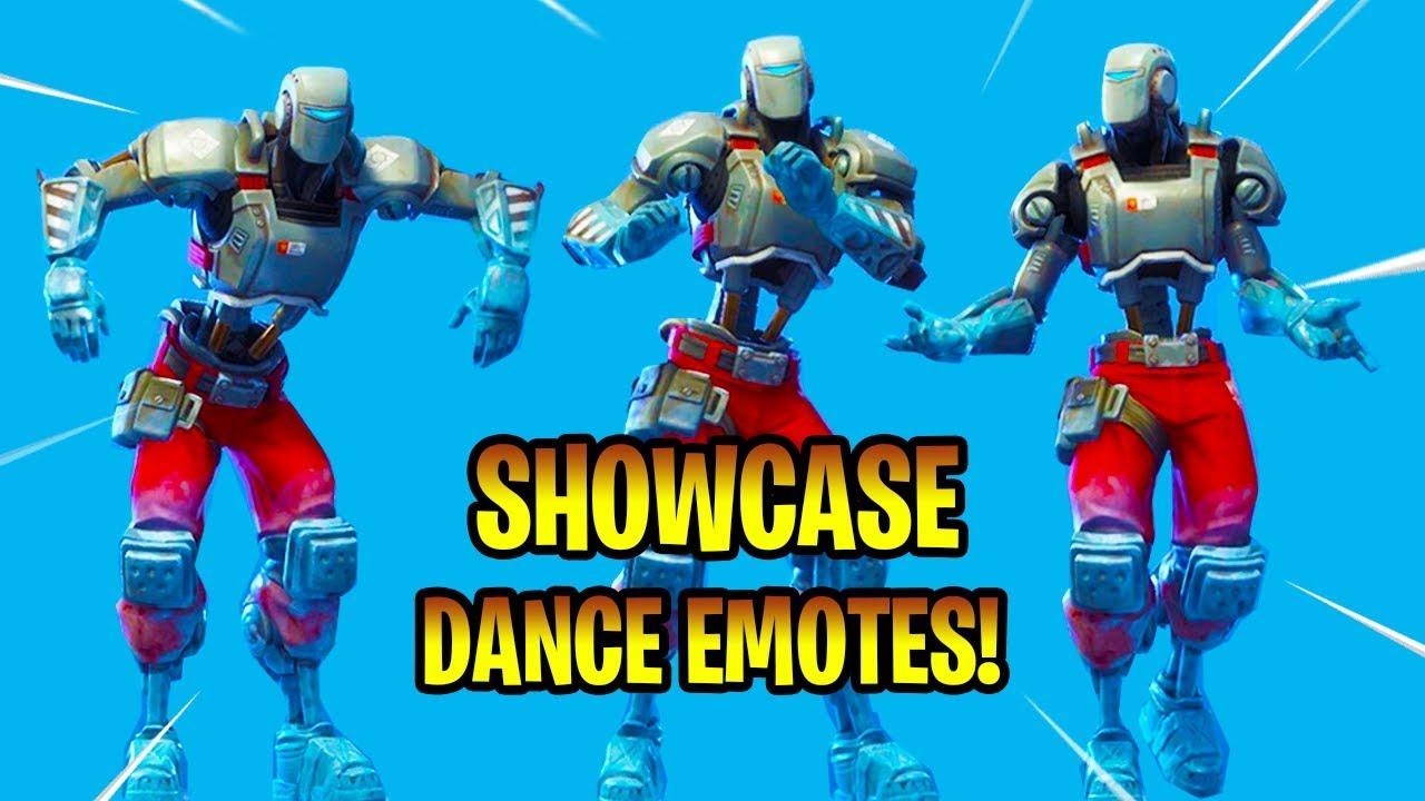 New A I M Skin Showcase With Dance Emotes Fortnite Battle Royale