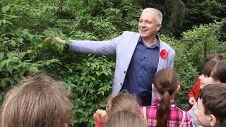 Урок на природі в Ботанічному саду