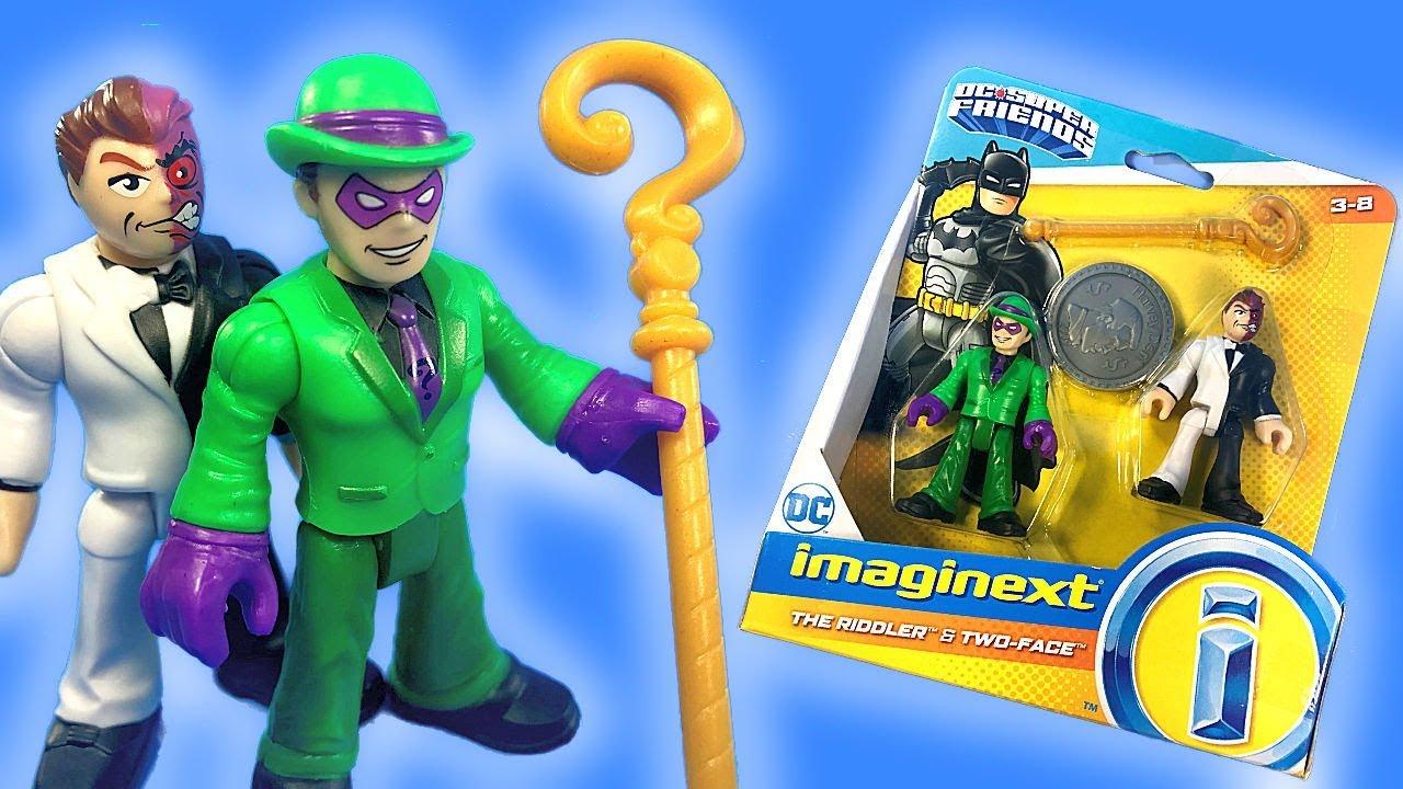 Imaginext Batman & Robin save Lightning McQueen & Mater ... |Imaginext Riddler