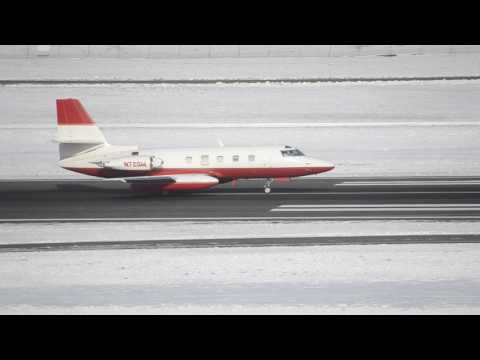 Rare Aborted Takeoff!!! Lockheed Jetstar [N72GW] Aborted Takeoff At PDX
