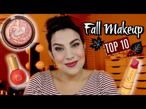 TOP 10 Makeup Products for Fall! Collab with Heather Austin thumbnail