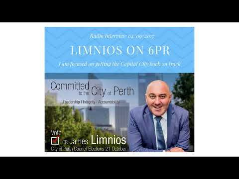 James Limnios on radio station 6PR