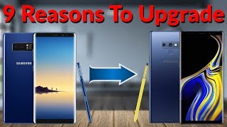 9 Reasons to Upgrade the Galaxy Note 8 to the Galaxy Note 9 - YouTube Tech Guy