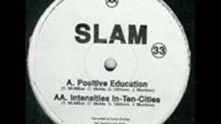 Slam Intensities in ten cities