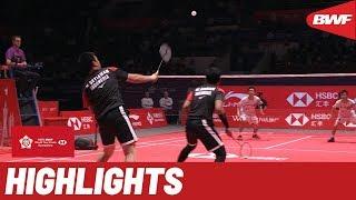 HSBC BWF World Tour Finals 2019 | Finals MD Highlights | BWF 2019