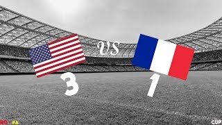 [RO-FA] ROBLOX | USA vs FRANCE | Cup | Main Highlights!