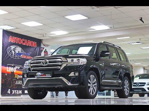 Toyota Land Cruiser 200 Executive 2017 Chicago Motors Moscow