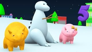 Christmas Special | Build a Snowman & Learn N...