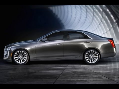 2015 Cadillac CTS Start Up and Review 3.6 L V6