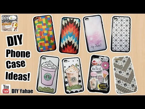 DIY Phone Case Ideas! ทำเคสโทรศัพท์เอง