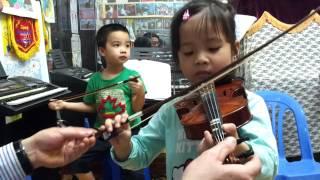 Lớp học Violin cho thiếu nhi tại Hà nội cực nhanh 0946836968