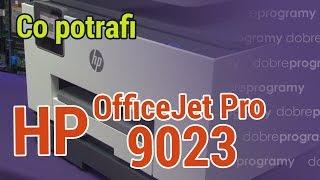 Test HP OfficeJet Pro 9023. Ten sprzęt może wszystko!