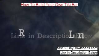 Build Your Own Tiki Bar Free - How To Build Your Own Tiki Ba