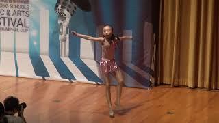 鄧唯_第6屆全港學界舞蹈音樂藝術節 凱港盃 2018 個人舞蹈