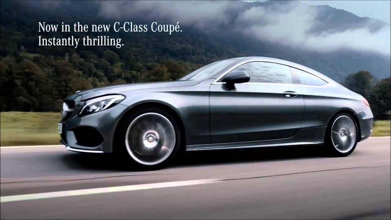 2017 mercedes benz c class coup tv commercials by highway for Mercedes benz new advert