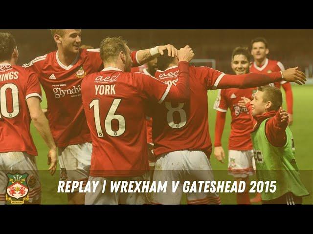 LIVE | Wrexham v Gateshead 2015