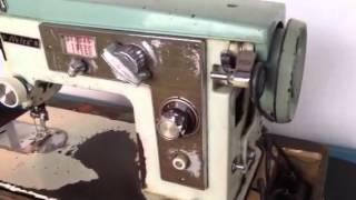 Vintage Nelco J-A36 JA36 ZigZag Portable Sewing Machine