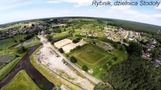 Zalew Rybnicki - zapora. Rybnik - dzielnica Stodoły.