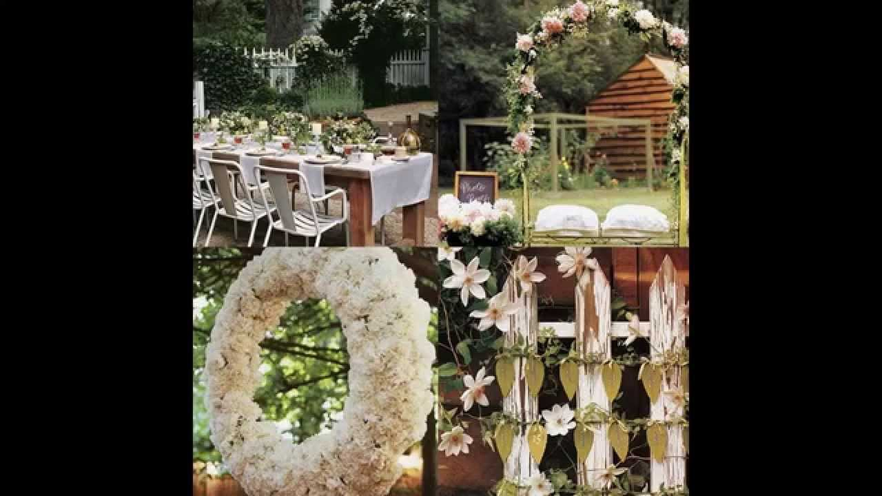 Decoracion jardin boda good como decorar con luces de for Boda en un jardin