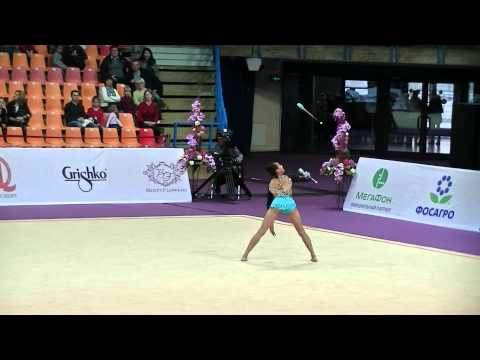Chan Emma (AUS) Clubs Int Comp Senior Grand Prix Moscow 2015
