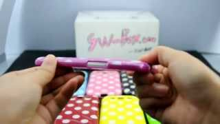 polka dot gloss flex gel case for samsung galaxy s 3 s3