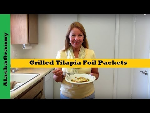 Grilled Tilapia Foil PacketsEasy Camping Recipe