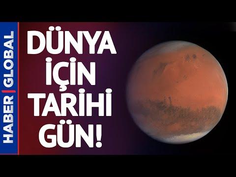 Dünya İçin Tarihi Bir Gün: Mars'a İniş Yapacak!