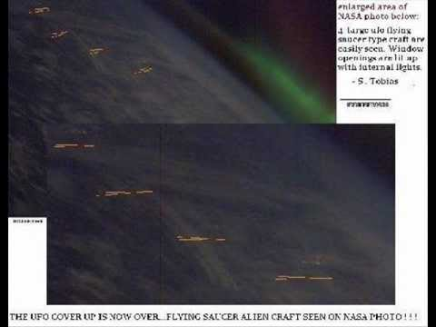 NASA IMAGES SPACE ALIEN FLEET