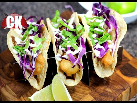 How To Make Fish Tacos - Chef Kendra's Easy Cooking!